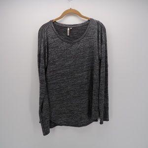 Banana Republic Gray Long Sleeve Tee T-Shirt Top
